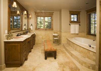Skyline Ski In Master Bath