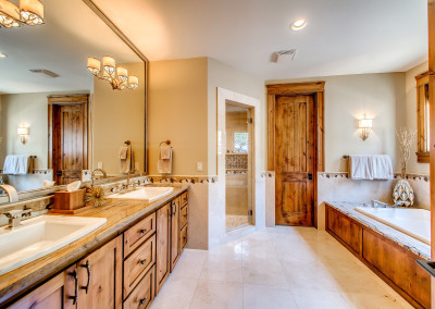 Whitewater Falls Guest Master Bath